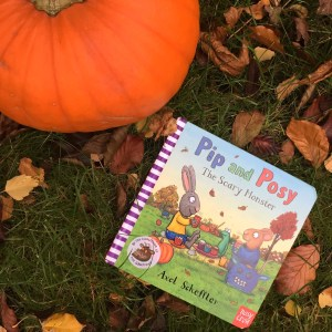 Book review Pip and Posy The Scary Monster on Mammafilz.com