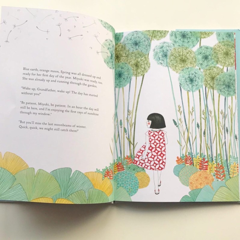 Picture book review Patience, Miyuki on MammaFilz.com