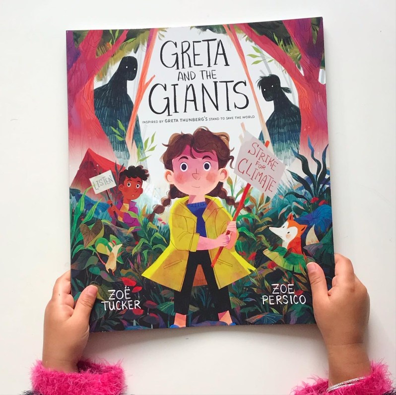 Greta and the giants book review on mammafilz.com