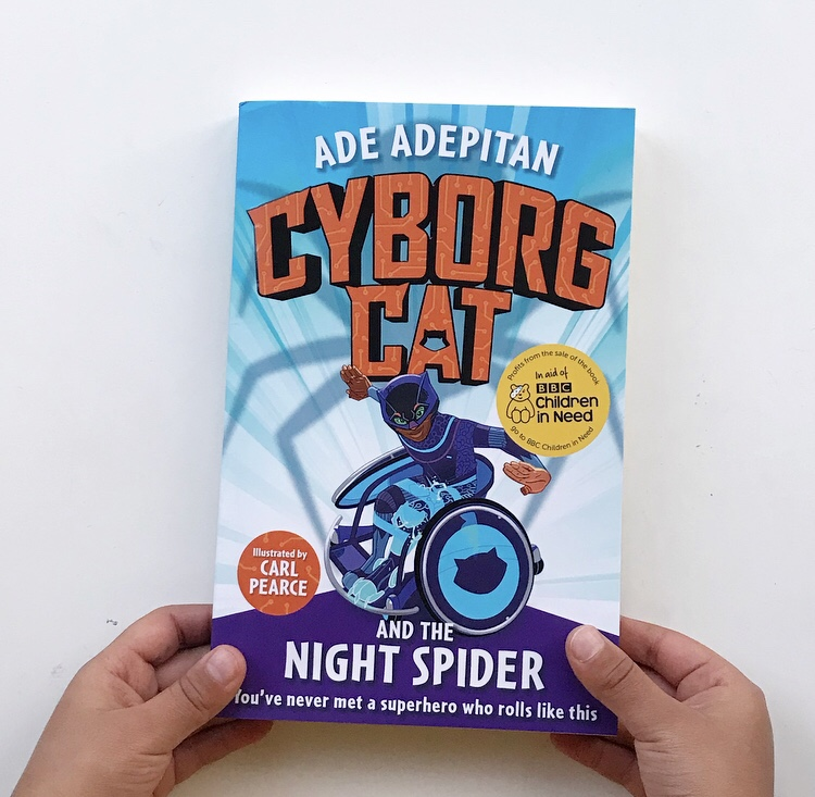 Cyborg Cat and the night spider book review on mammafilz.com