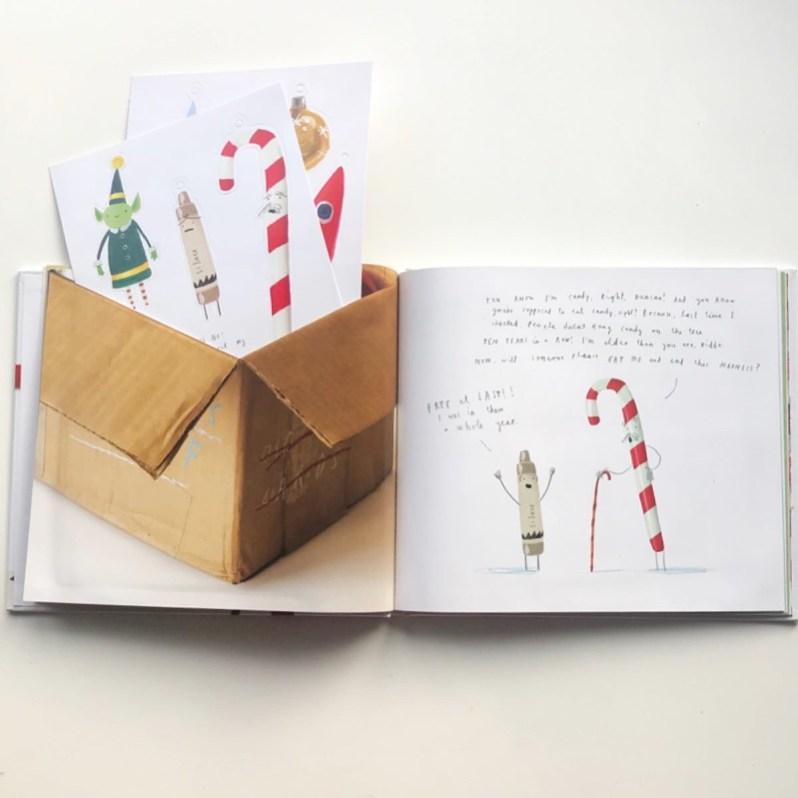 The crayons' Christmas book review on blog MammaFilz.com