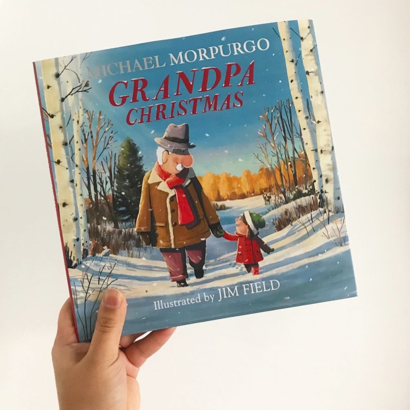 Grandpa Christmas book review on MammaFilz.com