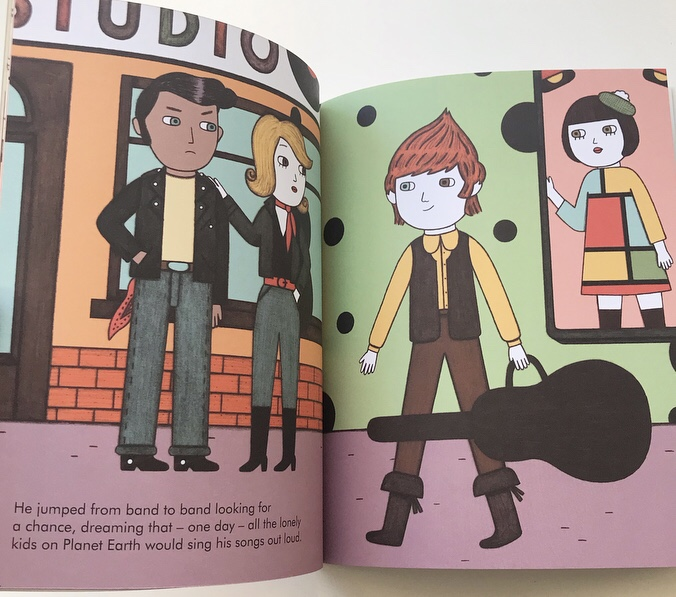 David Bowie, Little People Big Dreams book review on mammafilz.com