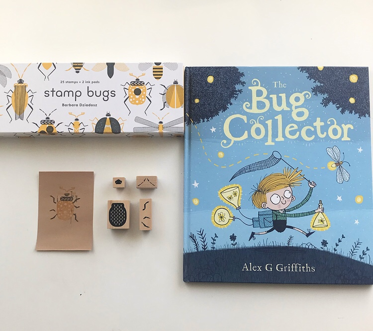 The Bug Collector by Alex Griffiths book review and Stamp Bugs review