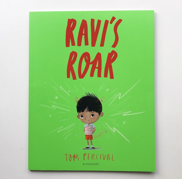 Ravi's roar picture book review on mammafilz.com