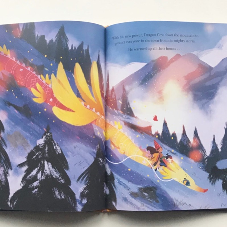 Book review of once upon a dragons fire