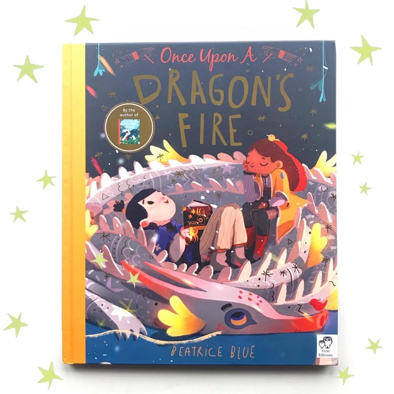 Book review of once upon a dragons fire on mammafilz.com