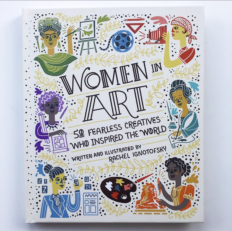 Book review of women in art on mammafilz.com