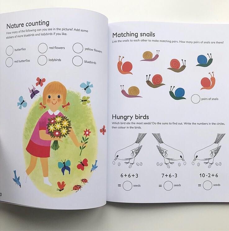 Nature activity book on mammafilz.com