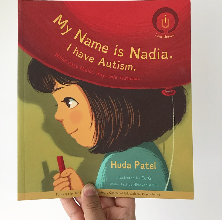 Book review my name is Nadia I have autism on mammafilz.com