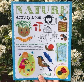Nature activity picture book on mammafilz.com