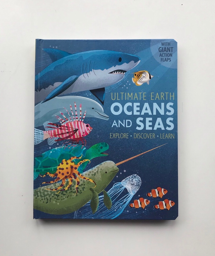 Ultimate Earth oceans and seas book review on mammafilz.com