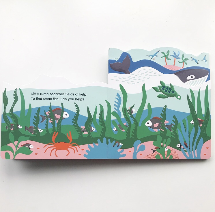 Book review for ocean board book on mammafilz.com