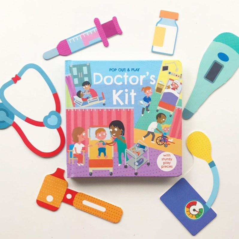 Interactive board book doctors kit on mammafilz.com