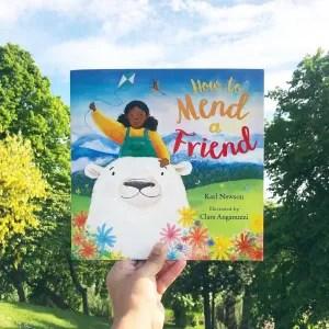 How to mend a friend by Karl newson and Clara anganuzzi on MammaFilz.com