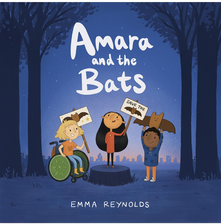 Book review Amara and the bats by Emma Reynolds