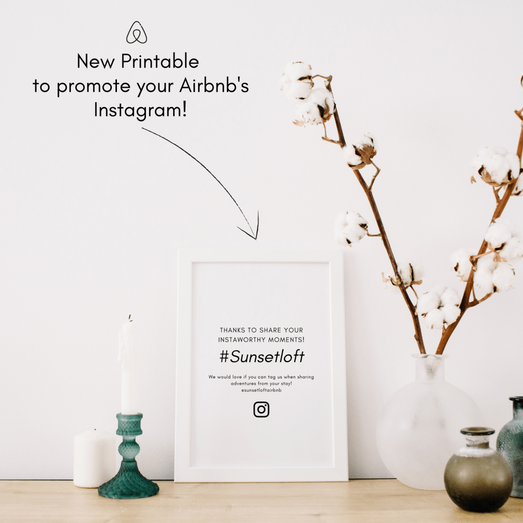 Promote your Airbnb on Instagram