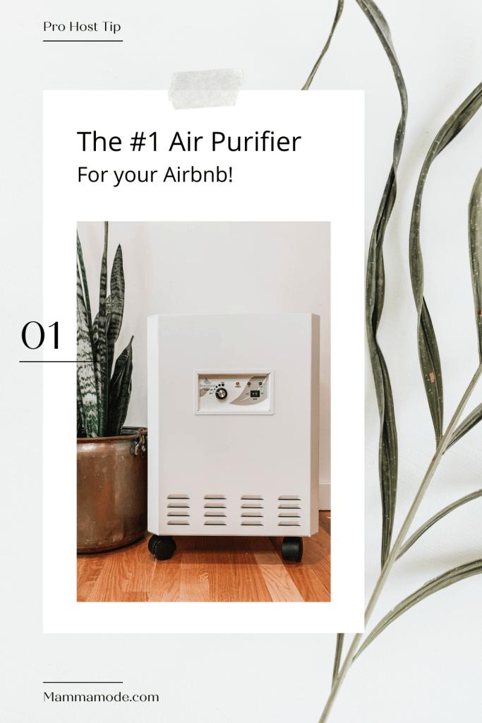 Airbnb Air purifier