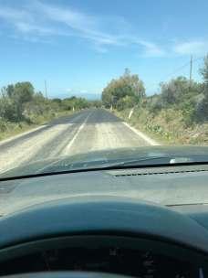 asfalto color grigio sbiadito