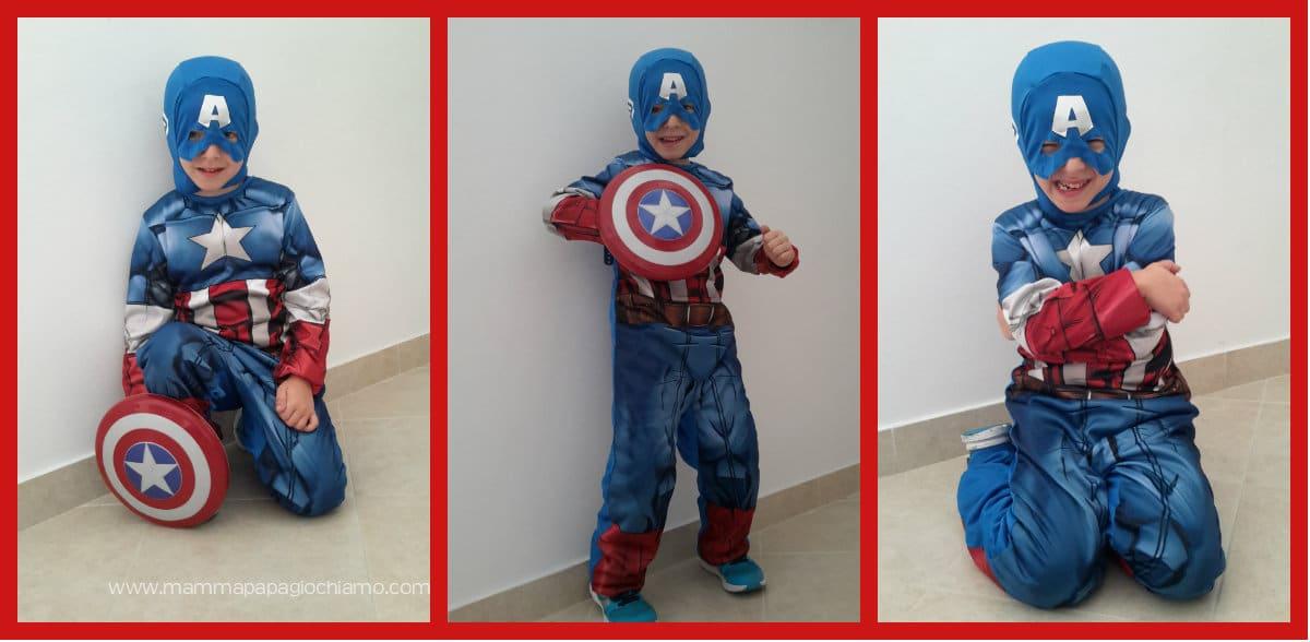 Travestiamoci da Capitan America!