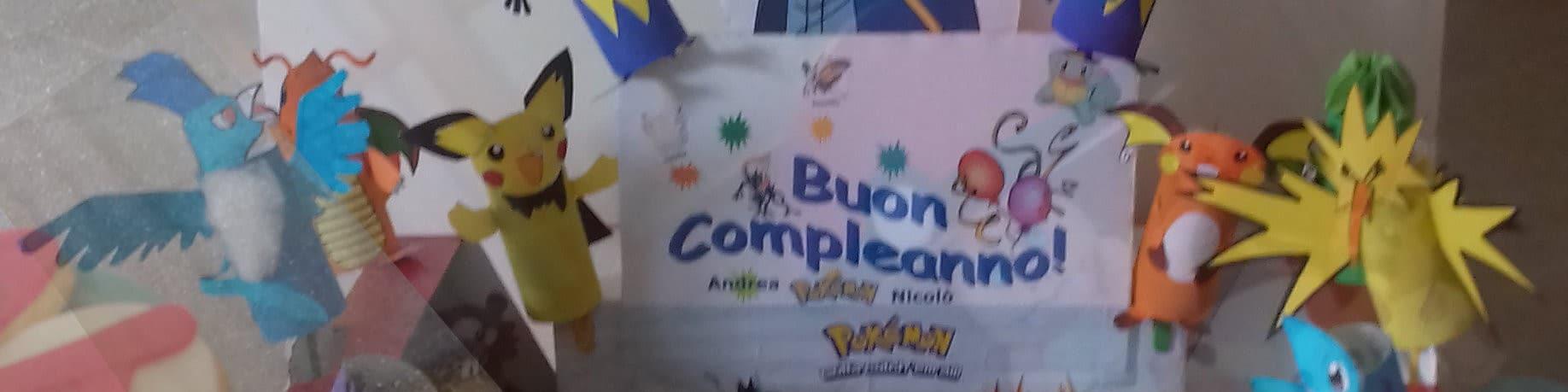 E' Festa : arrivano i Pokemon!