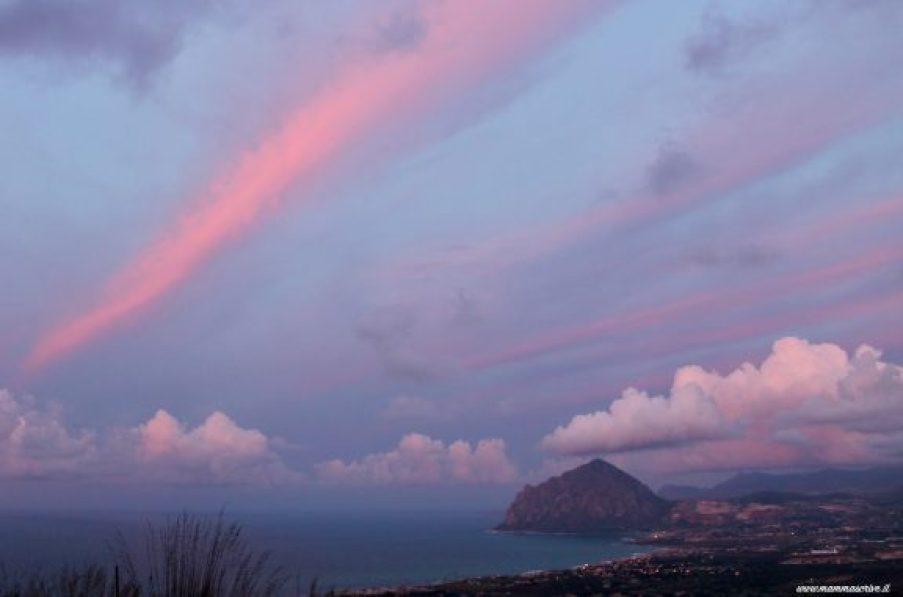 Erice tramonto