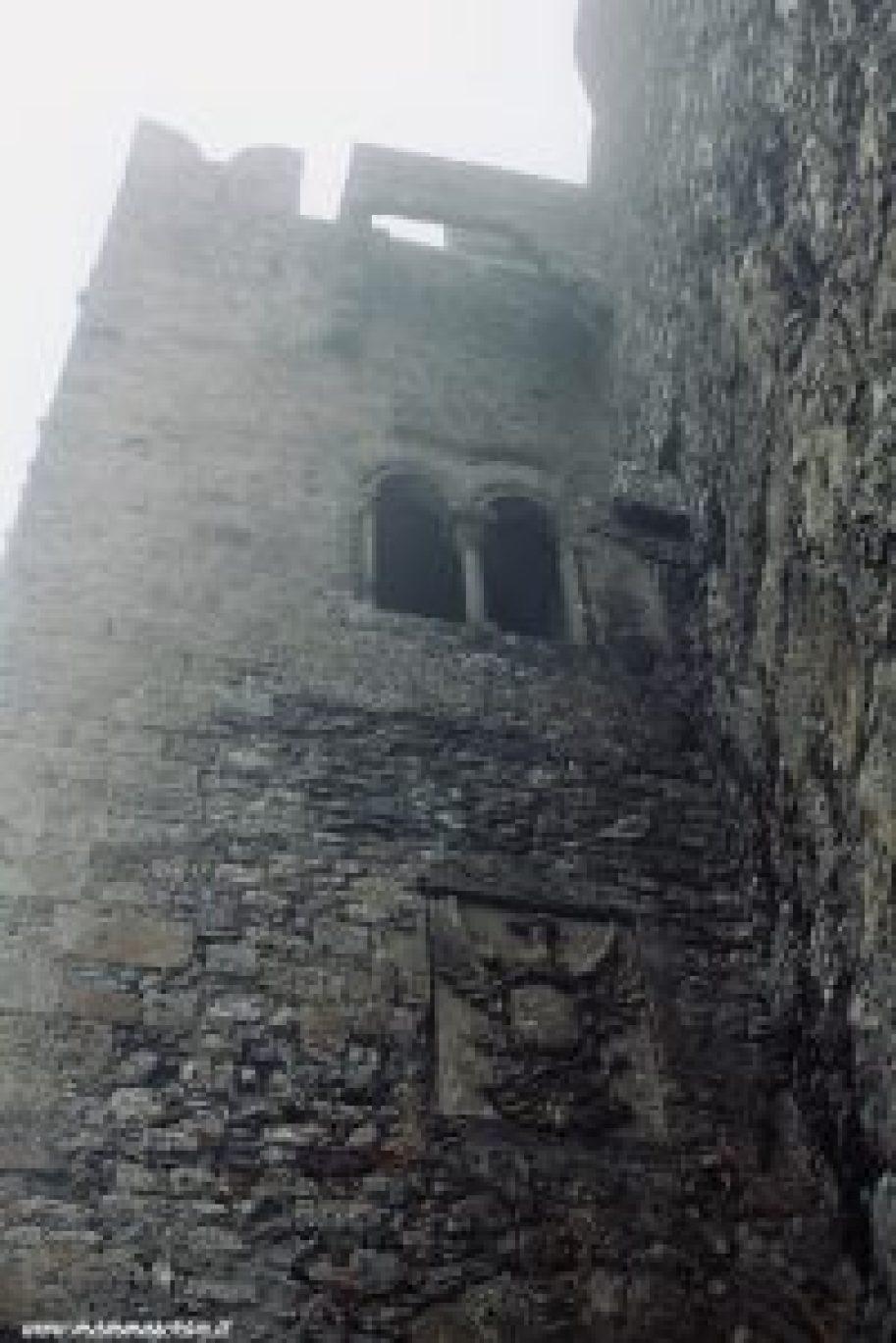 Particolare facciata Castello di Erice