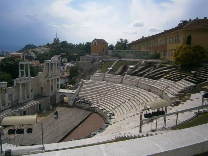 teatro romano di Plovdiv