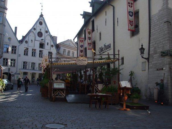 il centro di Tallinn