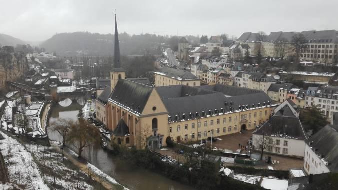 lussemburgo innevato