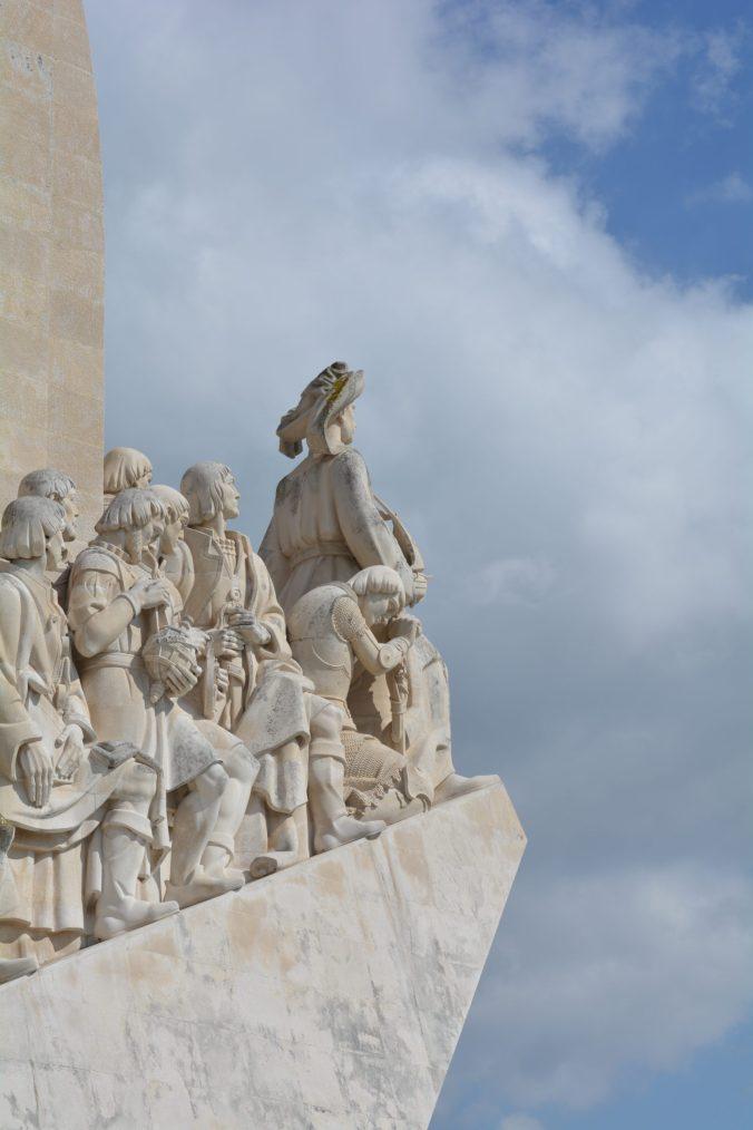 Monumento delle scoperte , una settimana in portogallo