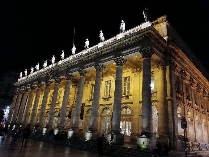 cosa fare a Bordeaux : visitare il gran Theatre della città