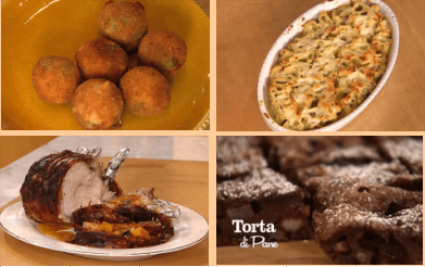 Il programma di cucina condotto da benedetta parodi, con tante. Il Menu Del Pranzo Di Natale Mammesbt Le Mamme Del Piceno