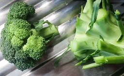 pulire i broccoli