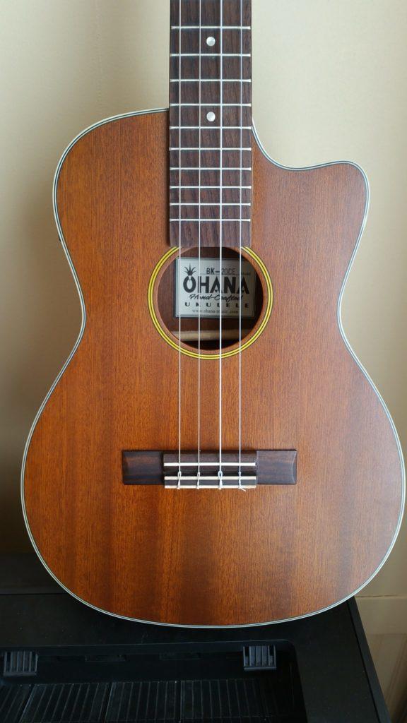 Ohana Baritone BK-20CE