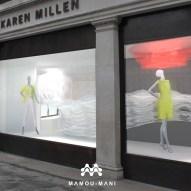 Rendering of the Karen Millen Magic Garden concept © Mamou-Mani