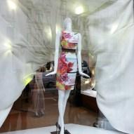 Picture of the Karen Millen Regent Street Store Windows on Regent Street © Mamou-Mani