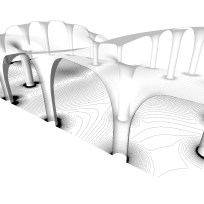 The roof and its contours - The Open Sportscape by Hoofice and Mamou-Mani