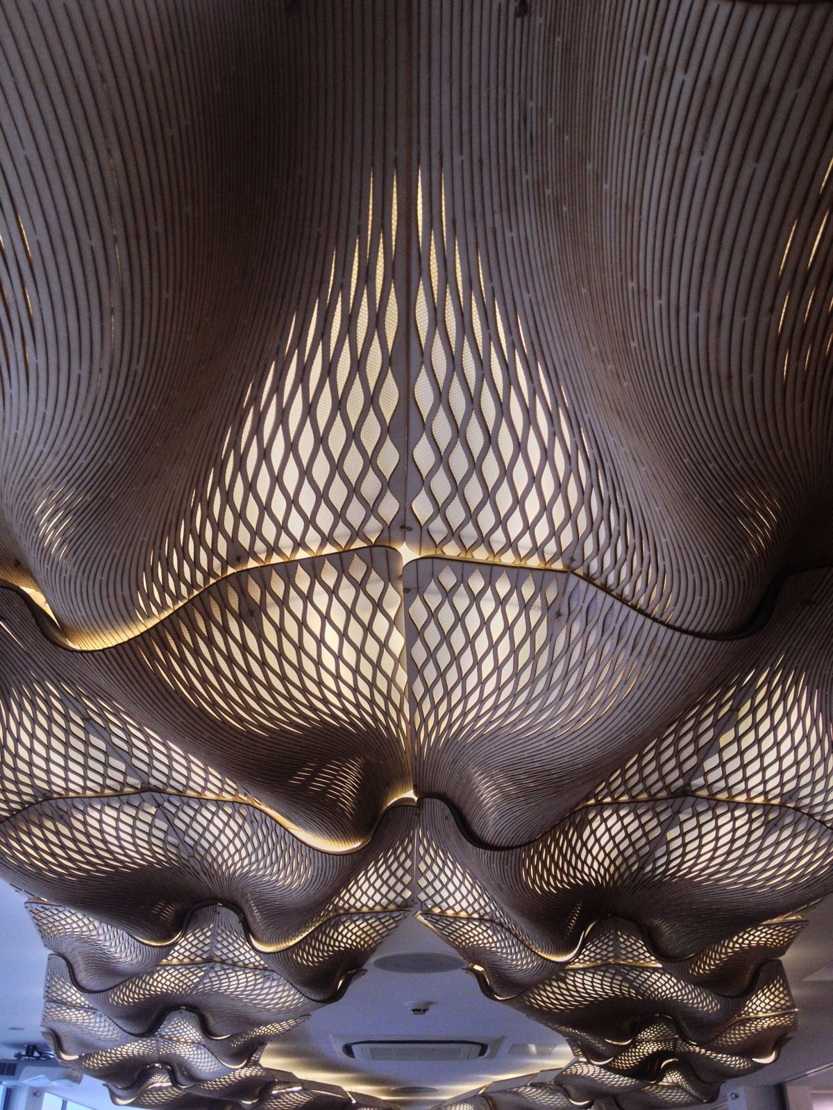 TheWoodenWaves at BuroHappold by Mamou-Mani - Picture by Lorenzo Vianelli