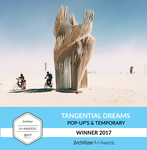 Tangential Dreams Winner Architizer 2017