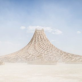 Temple Galaxia - Burning Man Temple 2018