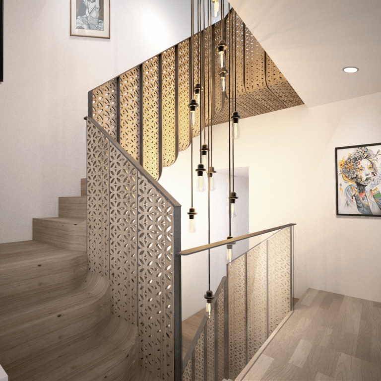 Hayles St - Staircase - Mamou-mani Ltd