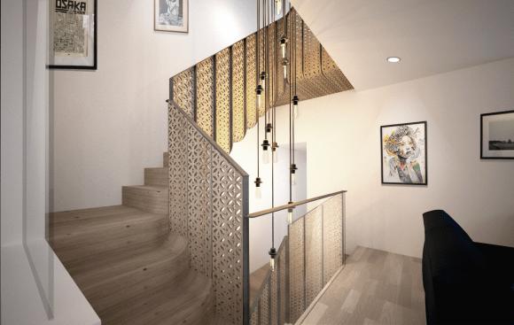 Hayles St - Staircase - Mamou-mani Ltd