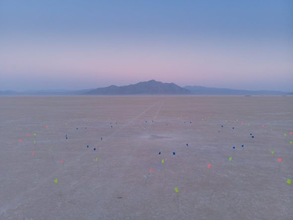 Temple Galaxia desert