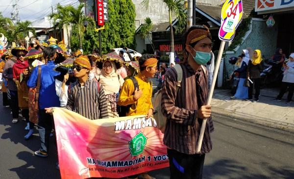 Karnaval Budaya Milad Muhammadiyah 107