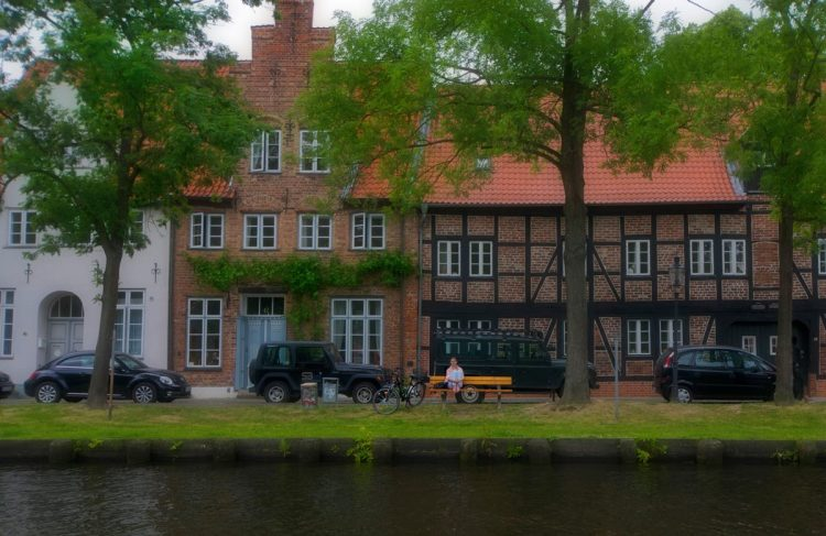 Luebeck by the sea