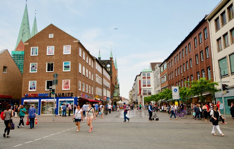Luebeck city center