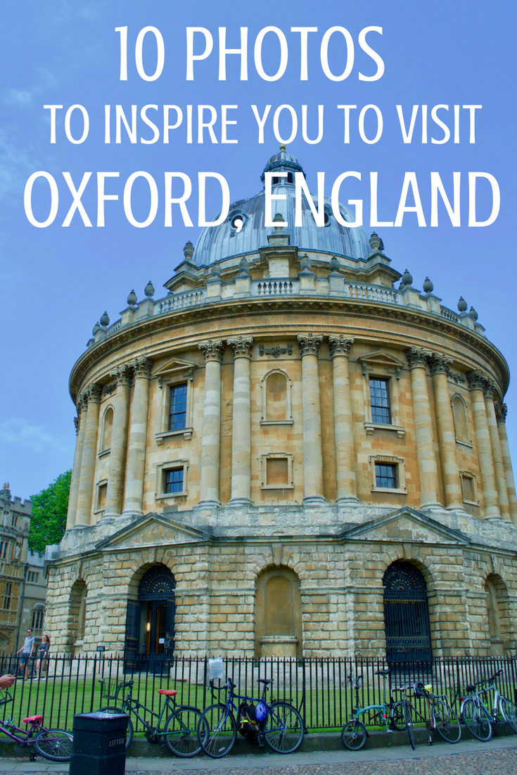 10 photos to inspire you to visit Oxford