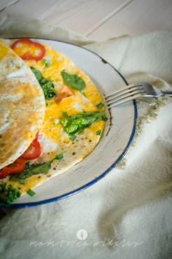 mam to na widelcu omlet ze szpinakiem 9749