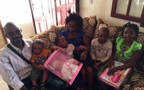 L'élan du coeur de Sylvia Bongo pour la petite Marie Catherine Ntsame